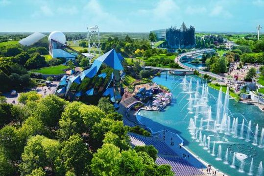 Futuroscope Theme Park France – Near Poitiers, Vienne