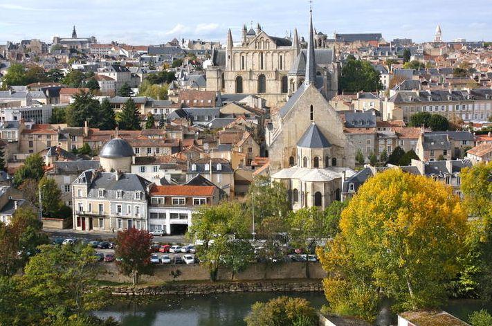 Poitiers Region in France