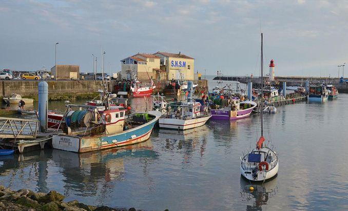 St.Pierre d'Oleron Island France