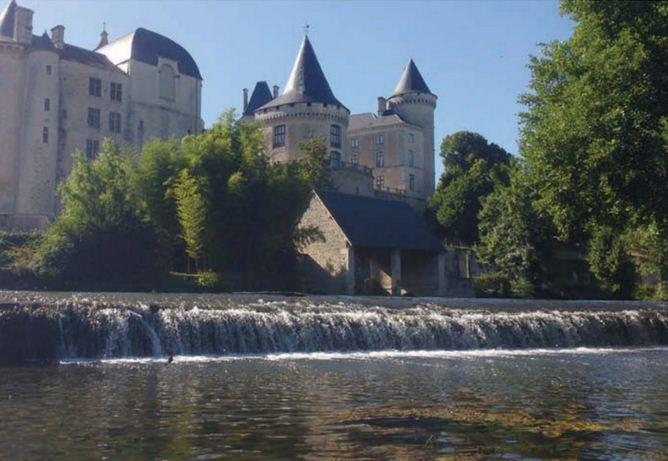 Ruffec in France Charente