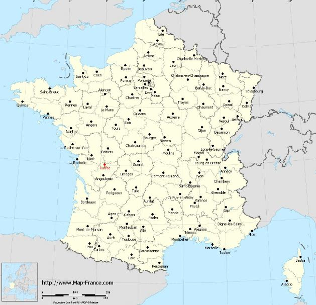 Where Is Ruffec in France Charente, Its Weather And All Tourist Information