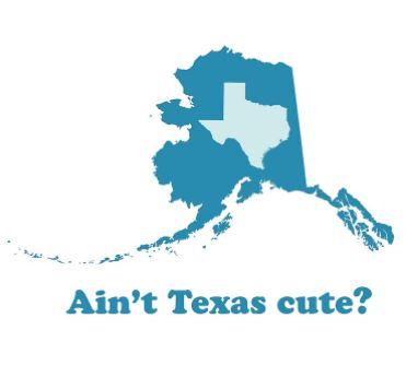 Alaska Vs Texas Size