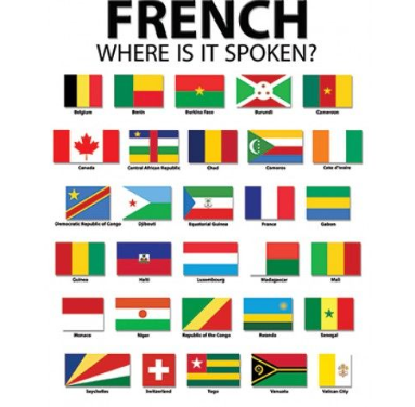 List Of Countries With French As An Official Language & Places That Speak French