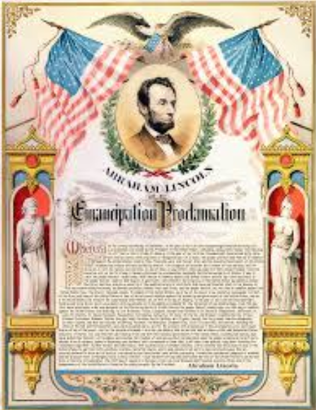 france and britain responded to the emancipation proclamation by